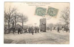 75 PARIS - 17ème, Porte De Champerret, Boulevard Gouvion Saint-Cyr (voir Descriptif) - Paris (17)