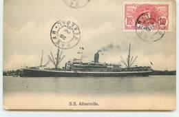 Paquebot - S.S. Albertville - Paquebots