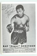 "Ray ""Sugar"" Robinson - World's Welterweight Champion - Boxe"
