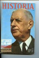 Piece D Antan - Historia - N 288 - Parution De Novembre 1970 - De Gaule A 80 Ans - Historia