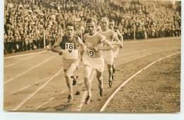 Carte-Photo - Athlétisme - Championnat De France 1928 Ou JO De 1924 à Colombes - Groupe De 4 Coureurs - Athlétisme