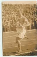 Carte-Photo - Athlétisme - Championnat De France 1928 Ou JO De 1924 à Colombes - Coureur Dossard N°17 - Athlétisme