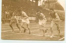 Carte-Photo - Athlétisme - Championnat De France 1928 Ou JO De 1924 à Colombes - Départ De Course - Athlétisme