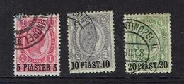 AUSTRIA...early Issues..offices In Turkey...#36;37;38 - Eastern Austria