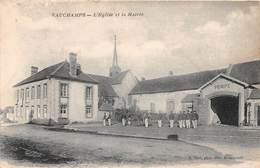 VAUCHAMPS - L'Eglise Et La Mairie - France