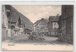 Wassen Dorfplatz Hôtel Du Boeuf - UR Uri