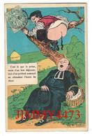 CPA - HUMOUR - C'est Là Que Le Prélat, Muni D'un Bon Déjeuner, Dort D'un Profond Sommeil En Atten - Edit. E. J. R. Paris - Humour