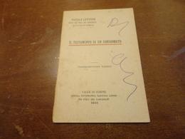 PICCOLE LETTURE EDITE DAI FIGLI DEI CARCERATI IN VALLE DI POMPEI- IL TESTAMENTO DI UN CONDANNATO - Vecchi Documenti