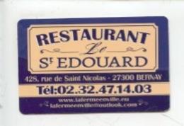 Bernay : Restaurant Saint Edouard - La Ferme En Ville, Chambres D'hôtes Rue Saint Nicolas (2 Scan) - Bernay