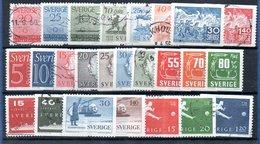 Suède / Lot De Timbres / Etats Divers - Schweden