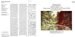 Superlimited Edition CD Wolfgang Sawallisch&Staatskapelle Dresden. SCHUBERT. Sinfonie N6 C-dur. OUVERTUREN C-dur&D-dur. - Klassik