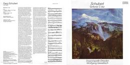Superlimited Edition CD Wolfgang Sawallisch&Staatskapelle Dresden. SCHUBERT. Sinfonie N7 C-dur. - Klassik