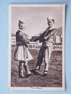 TIPI ALBANESI - 1939-XVII - Viaggiata Nel 1941 - Albania