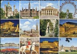 Gruss Aus Wien - Formato Grande Viaggiata Mancante Di Affrancatura – E 10 - Cartoline