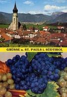 Grusse A St.pauls I Sudtirol - Formato Grande Viaggiata – E 10 - Cartoline