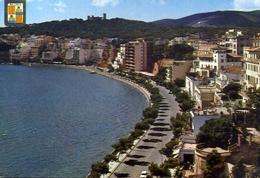 Mallorca - Palma - Promenade Maritime Et Chateau De Bellver - Formato Grande Viaggiata Mancante Di Affrancatura – E 10 - Cartoline