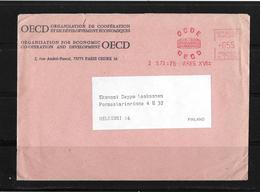 1973 Frankreich → Lettre OECD Paris à Helsinki / Finland - France