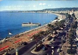 Nice - La Promenade Des Anglais Vue - Formato Grande Viaggiata – E 10 - Cartoline