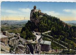 Repubblica San Marino - La Seconda Torre - 13 - Formato Grande Viaggiata Mancante Di Affrancatura – E 10 - Cartoline