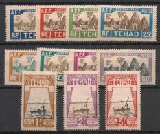 Tchad - 1930 - Taxe TT - N°Yv. 12 à 22 - Série Complète - Neuf Luxe ** / MNH / Postfrisch - Tchad (1922-1936)