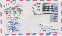 USA 1978 Antarctic Development Squadron Six Flight From McMurdo To South Pole Ca Dec 12 1978 (41916) - Poolvluchten