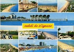 Saluti Da Lignano - Formato Grande Viaggiata – E 10 - Cartoline