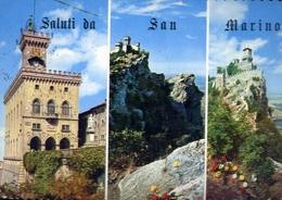 Saluti Da San Marino - Formato Grande Viaggiata – E 10 - Cartoline