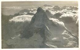 Zermatt - Matterhorn  (hübsche Luftaufnahme)           1931 - VS Valais