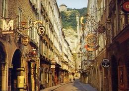 Salzburg - Getreidegasse - Formato Grande Nonviaggiata – E 10 - Cartoline