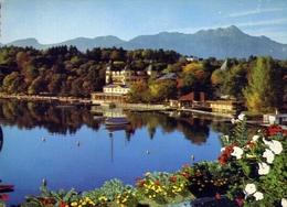 Schlon Velden Am Worthersee Mit Mittagskogel - Karnte4n - Austria - Formato Grande Non Viaggiata – E 10 - Cartoline