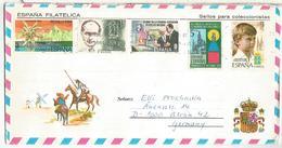 BALEARES SOBRE TURISTICO DON QUIJOTE ORTEGA Y GASSET RELIGION VIRGEN NATURA - 1981-90 Cartas