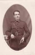 Carte Photo Professionnelle Militaire En Tenue - Périgueux - Guerra 1914-18