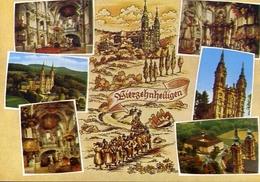 Wallfahrtskirche - Vierzehnheiligen - Barock Basilika - Erbaut Von Balthasar Neumann - Formato Grande Non Viaggiata – E - Cartoline