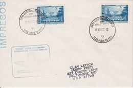 Argentina 1972 Cover Ca Declaration Conjunta Ca Port Stanley Falkland Islands (see Backside)  (41918) - Argentinië