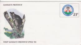 SANDAUN -  Entier Postal - Tenkile (marsupial Arboricole) - Papouasie-Nouvelle-Guinée