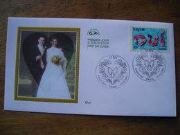 2002 Premier Jour FDC, Oui, Mariage - FDC