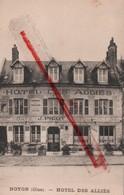 (Oise) Noyon - 60 - Hôtel Des Alliés - Noyon