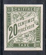 COLONIES GENERALES TAXE N°21 N* - Portomarken