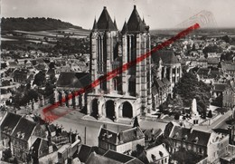 (Oise) Noyon - 60 - En Avion Au Dessus De Noyon, La Cathédrale - Noyon