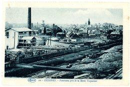 Lessines. Panorama Pris De La Motte Tacquenier. Lessen. Algemeen Zicht. Circulé En 1930. Wagons. - Lessines