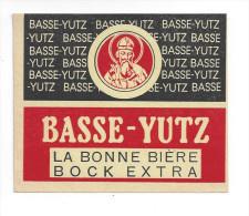 Etiquette De Bière Bock Extra   -  Brasserie De Basse Yutz  (57) - Bier