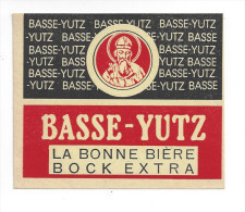 Etiquette De Bière Bock Extra   -  Brasserie De Basse Yutz  (57) - Birra