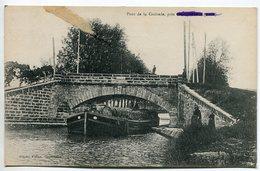 OUVEILLAN - Pont De La Croisade - Péniche - Voir Scan - Otros Municipios
