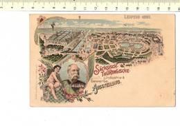49627 - LEIPZIG 1897 SACHSISCH THURINGISCHE INDUSTRIE GEWERBE ASSTELLUNGNG - Leipzig
