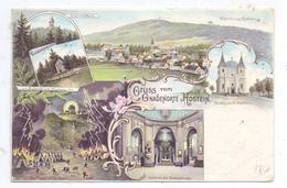 BÖHMEN & MÄHREN - BISTRITZ Am Hostein / Bystrice Pod Hostynem, Lithographie 1901, Gruss Vom Gnadenorte Hostein - Böhmen Und Mähren