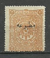 Turkey; 1893 Overprinted Stamp For Printed Matter 2 K. - Nuevos