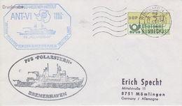 Germany 1988 Deutsche Antarktisexpedition Cover  Ca Polarstern Ca Bremen 12.4.88 (41920) - Zonder Classificatie