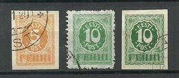 Estland Estonia 1919 Michel 6 - 8 O - Estonia