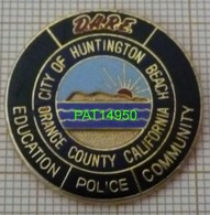 POLICE CITY OF HUNTINGTON  USA CALIFORNIE  -  DARE En Version EGF - Police