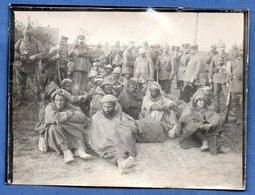 Photo  -Prisonniers De Soldats Des Colonies - War 1914-18